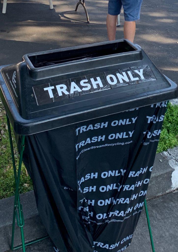 パロアルトのゴミ箱