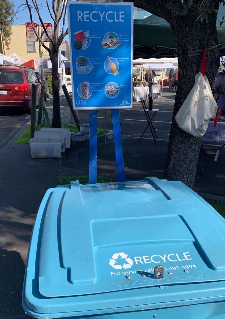 リサイクル用ゴミ箱