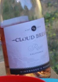 Cloud break、クラウドブレイク、カリフォルニアワイン
