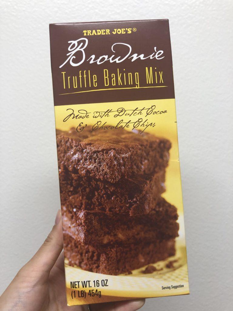 トレジョのチョコレートブラウニーミックス