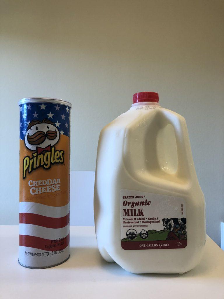 トレーダージョーズの牛乳