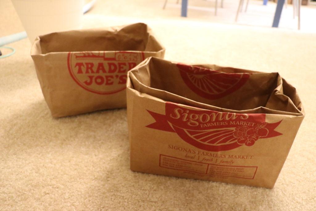 紙袋の再利用、リメイク