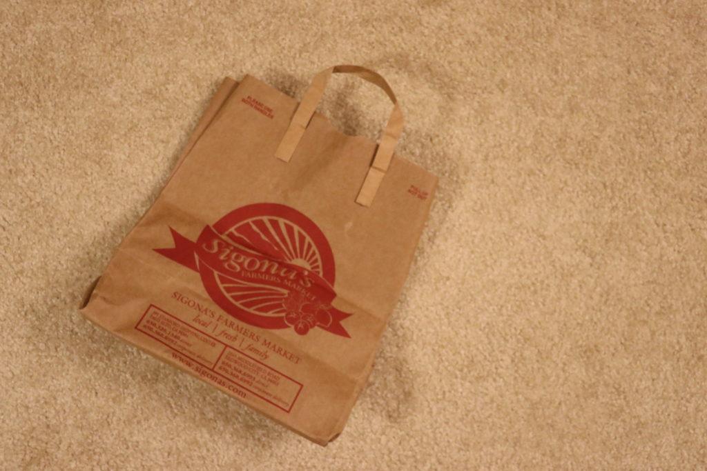 紙袋のリメイク、再利用