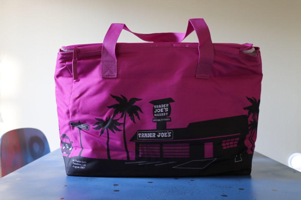 トレジョの保冷バッグ、エコバッグ