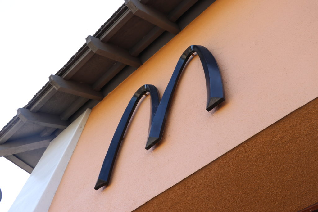 黒いマクドナルド