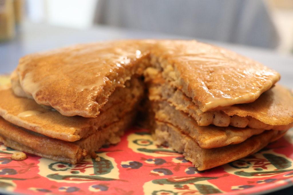 パンプキンパンケーキ