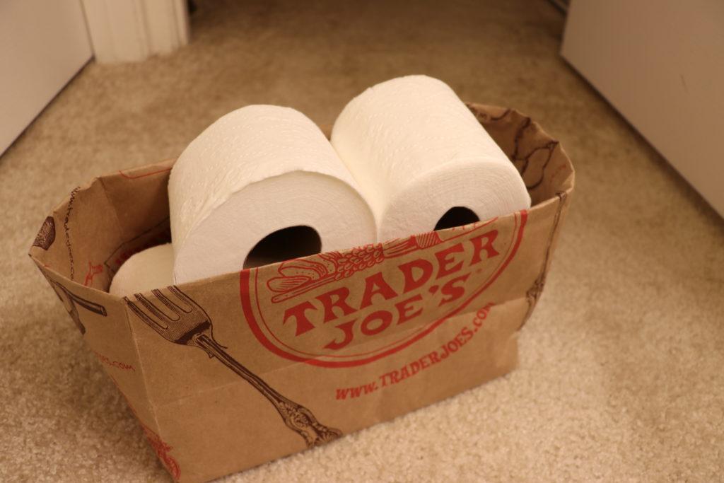 紙袋で収納方法