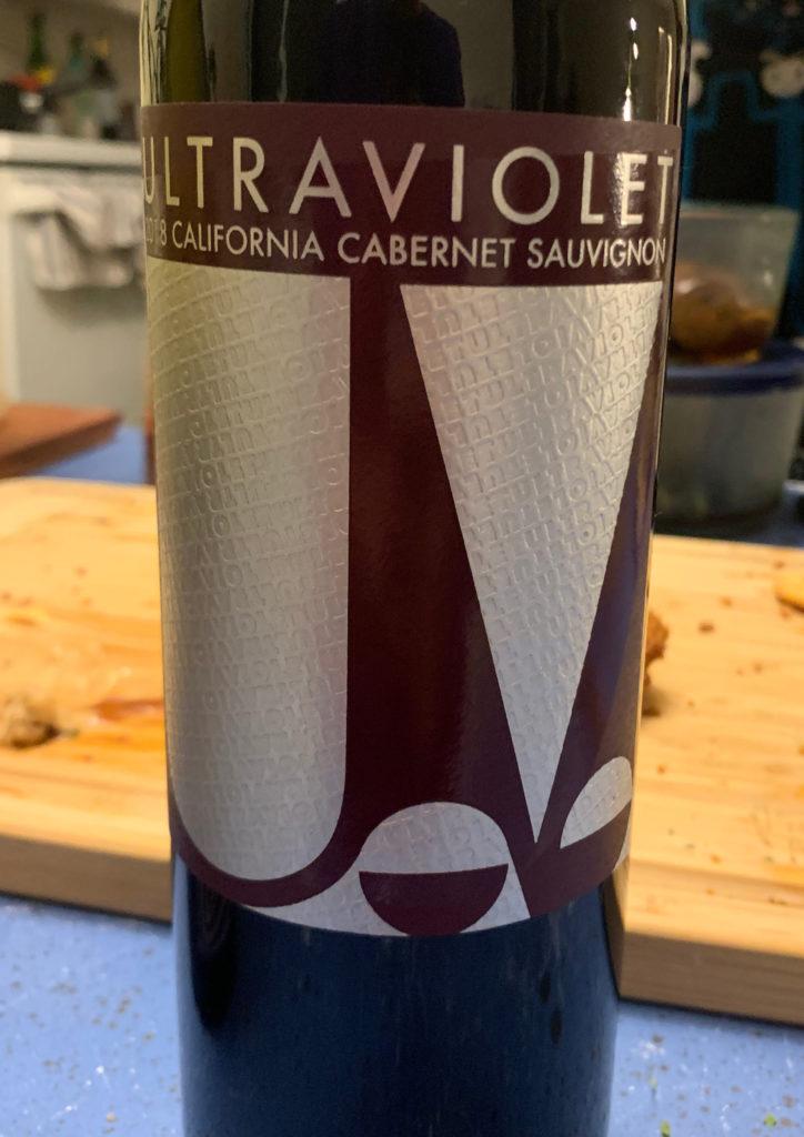 Ultraviolet、カリフォルニアワイン、ウルトラバイオレット、カルベネソービニョン