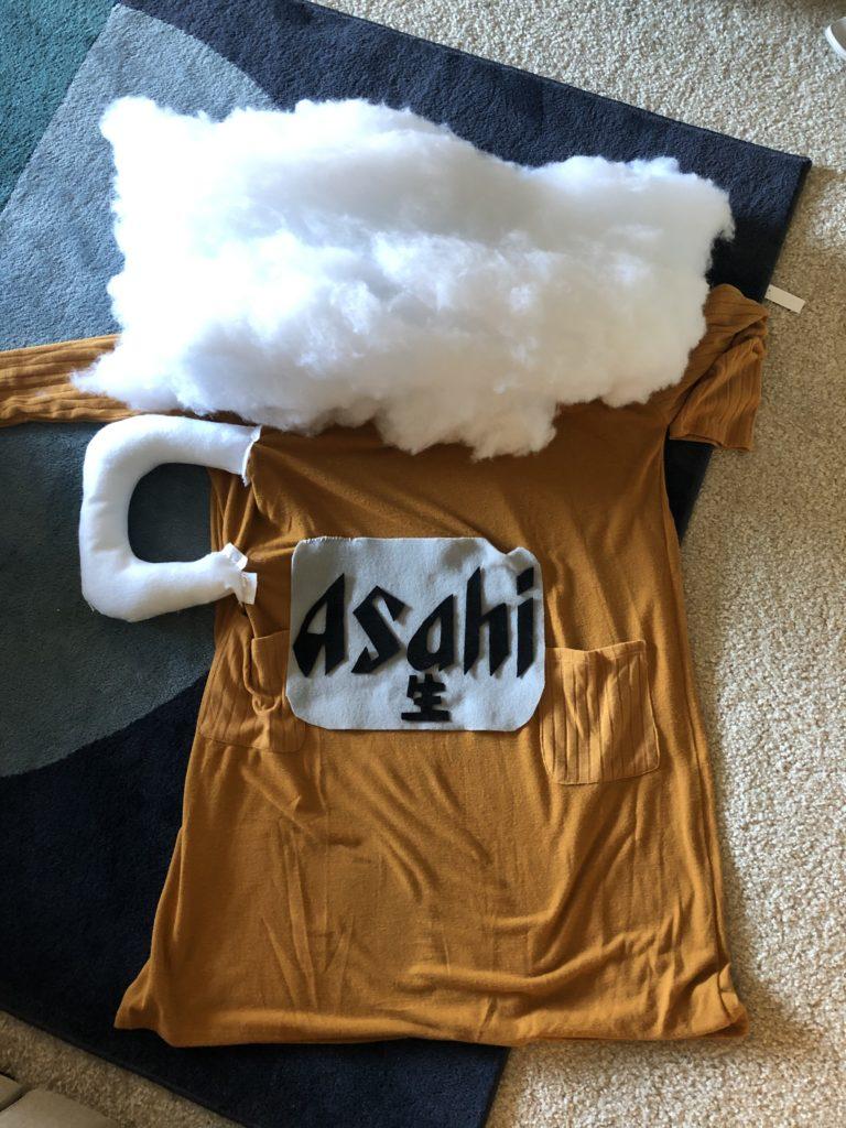 ビールドレス、ビールの仮装、アサヒビール