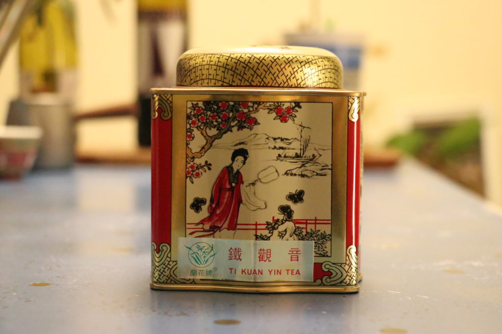 鉄観音茶、大成超級市場