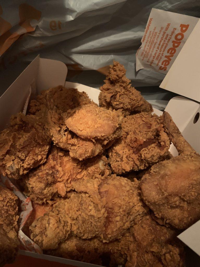 Popeye's Luisiana Kitchen、ポパイズルイジアナキッチン、チキン