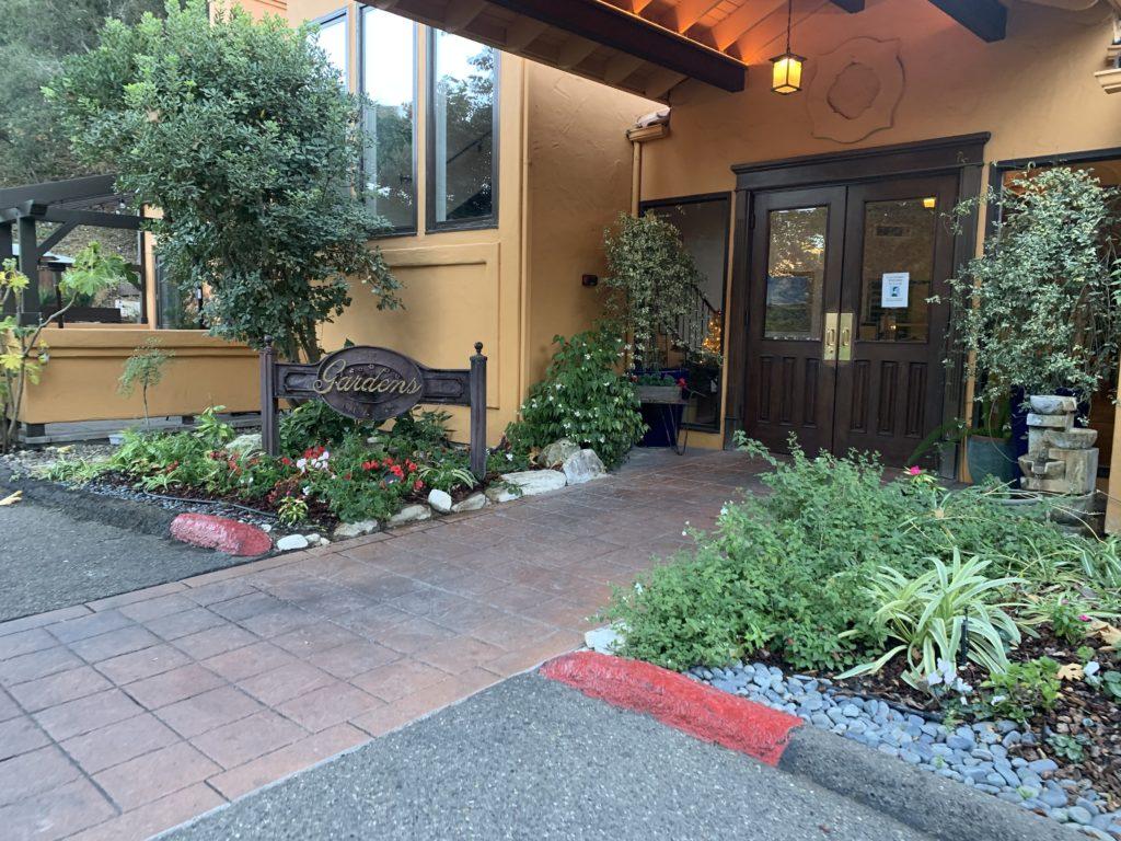 シカモア温泉、サンルイスオビスポ、カリフォルニア、客室露天風呂