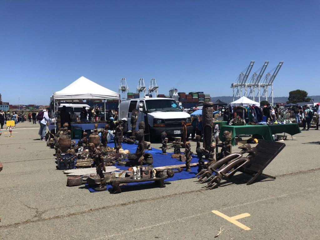 アラメダフリーマーケット、アラメダポイントアンティークフェア、カリフォルニア
