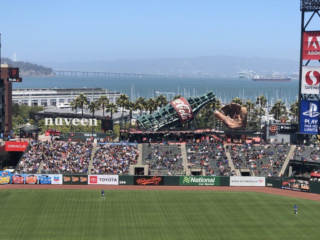 オラクルパーク、サンフランシスコ・ジャイアンツ、野球観戦