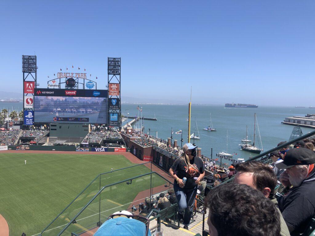 オラクルパーク、サンフランシスコ・ジャイアンツ、野球観戦、スプラッシュ・ヒット