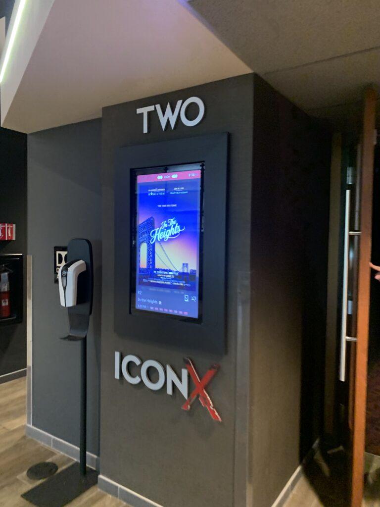 アメリカの映画館、ICON、イン・ザ・ハイツ