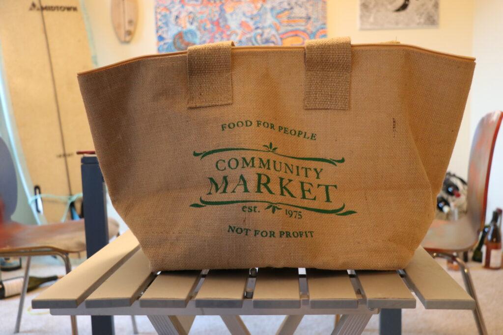 コミュニティマーケット、エコバッグ