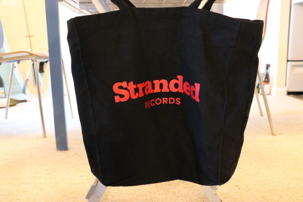 エコバッグ、レコード、stranded